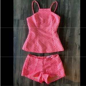 Lily Pulitzer two piece romper - in hot pink !